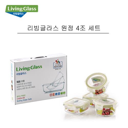 [회원 전용 상품] 리빙글라스 원정 4세트