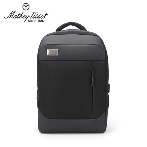[회원 전용 상품] 메티티솟 Rex 스마트 노트북 백팩(블랙), TMK1P1121BK