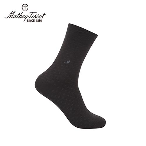 [회원 전용 상품] 메티티솟 스퀘어 신사 양말 블랙 TMH2S5122BK