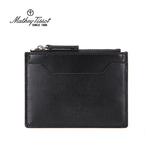 [회원 전용 상품] 메티티솟 지퍼형 카드지갑, TMG1C2124BK